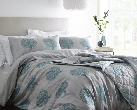 COPPICE TEAL THROW PACKAGING (no usm)