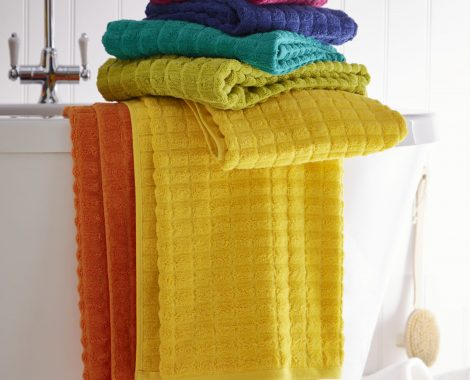 GEO TOWELS STACK (no usm)