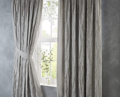 OAK TREE SILVER CURTAIN (no usm)