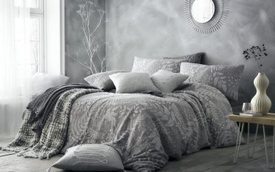 PALAZZO - WITH THROWS - GREY