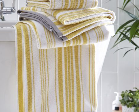 REGENCY TOWEL - OCHRE